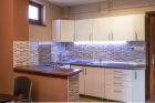 It is a kitchen of high standard regarding its equipment as well as its look